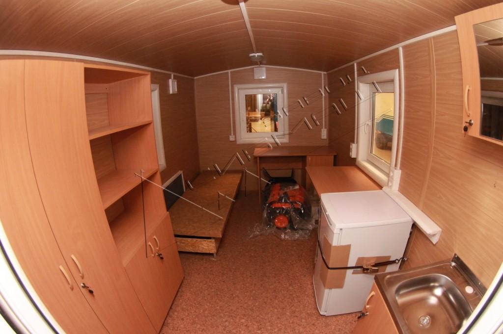 фото уютного вагончика строительной бригады высоком разрешении